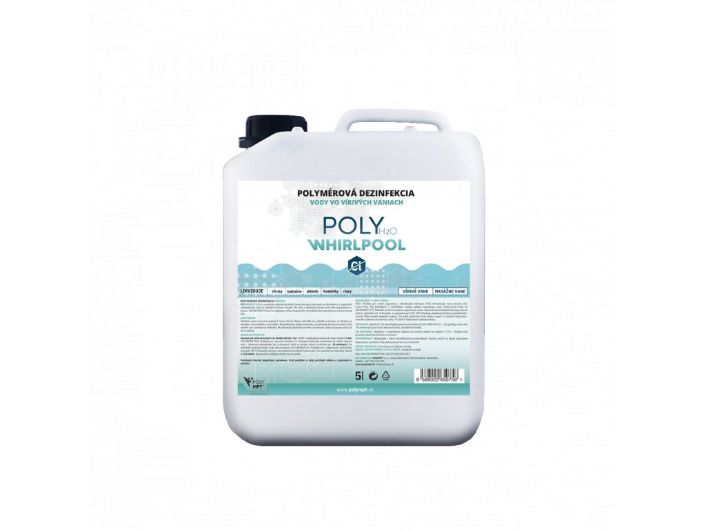 Dezinfekcia vody 5L - bezchlórová chémia pre vírivé vane
