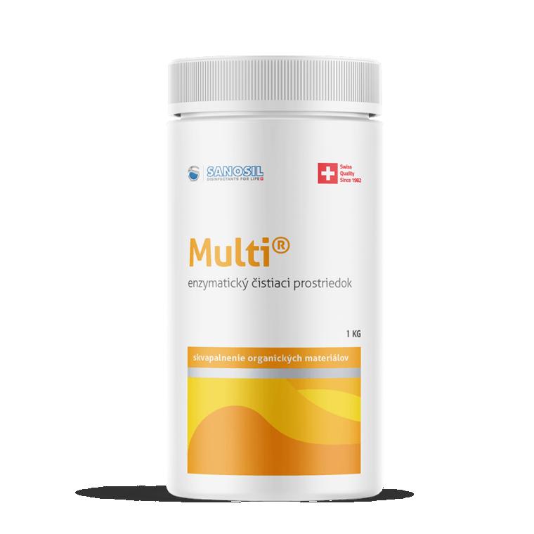 Multi - odstraňuje organické zvyšky a nečistoty, balenie 1kg