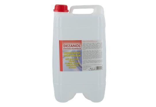 Dezanol - balenie 10kg, bez chemických prvkov, nie je toxický, ani agresívny