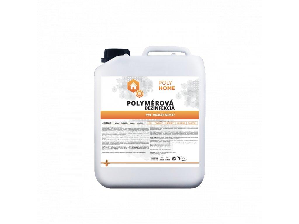 Polymérová dezinfekcia POVRCHOV  5L
